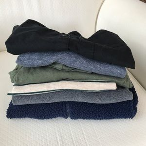 Lot of boys fall tops